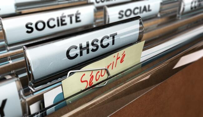 Sécurité au travail, CHSCT